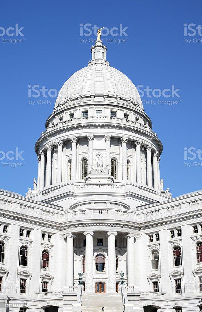 Capital Dome bright, blue sky royalty-free stock photo