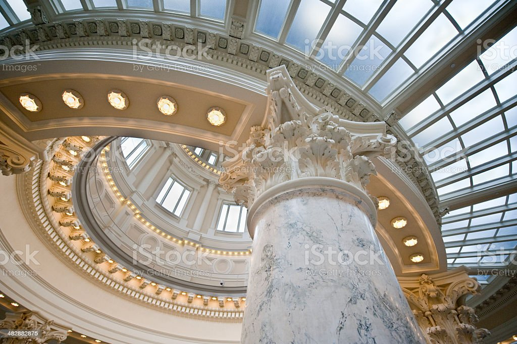 Capital Dome stock photo