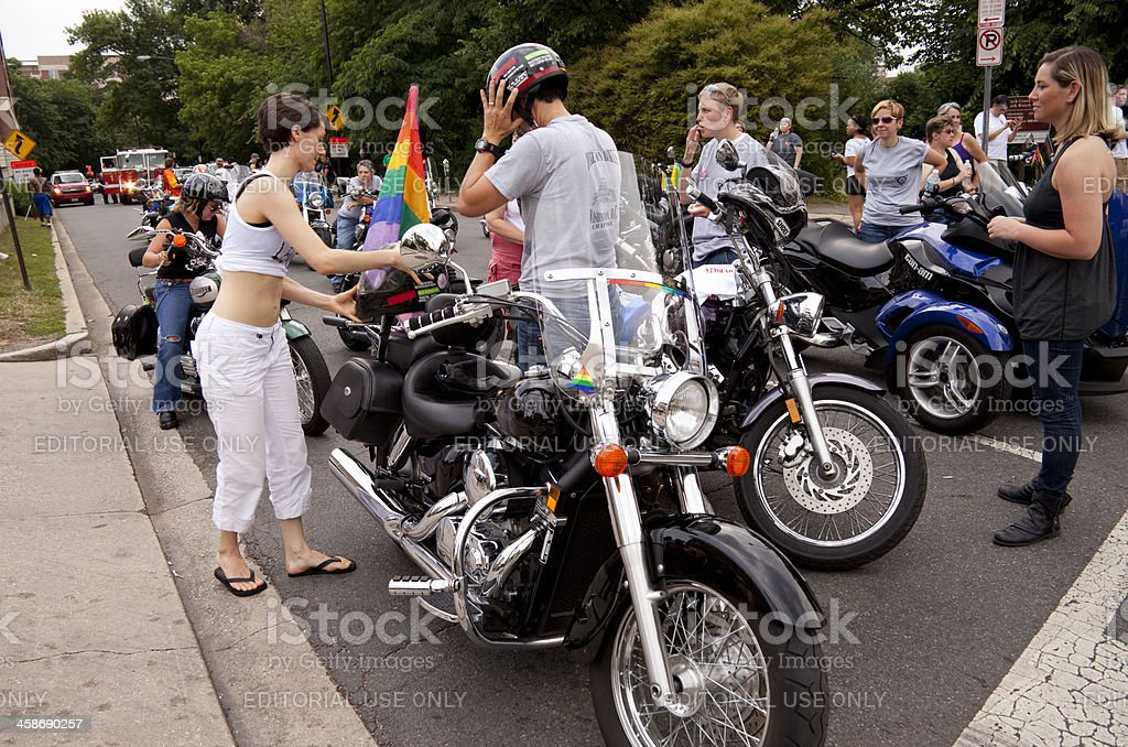 Capital Gay Pride royalty-free stock photo