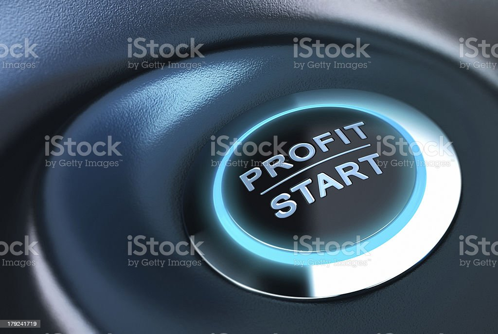 Capital management, profit and investment stock photo