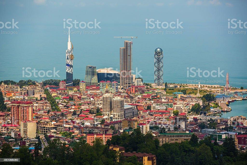 Capital of Adjara, Batumi stock photo