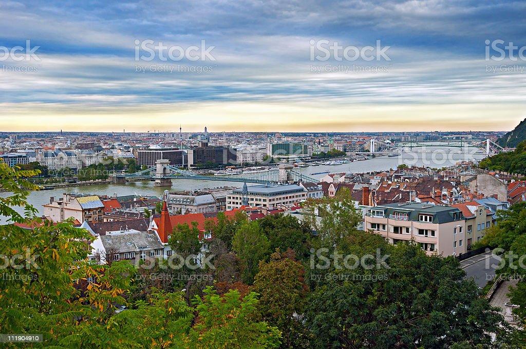 Capital of Hungary-Budapest royalty-free stock photo