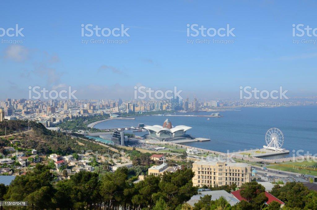 Capital Of Modern Azerbaijancity Baku Stock Photo Download Image Now Istock