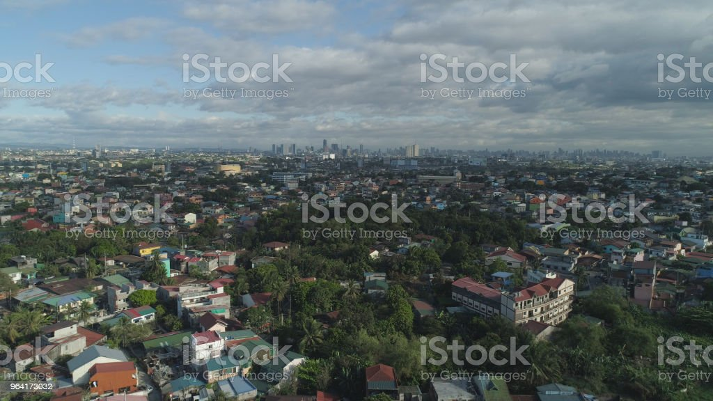 Capital of the Philippines is Manila stock photo