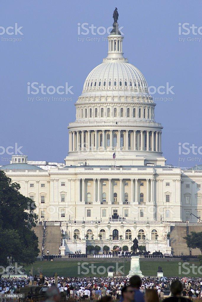 Capital Rotunda royalty-free stock photo