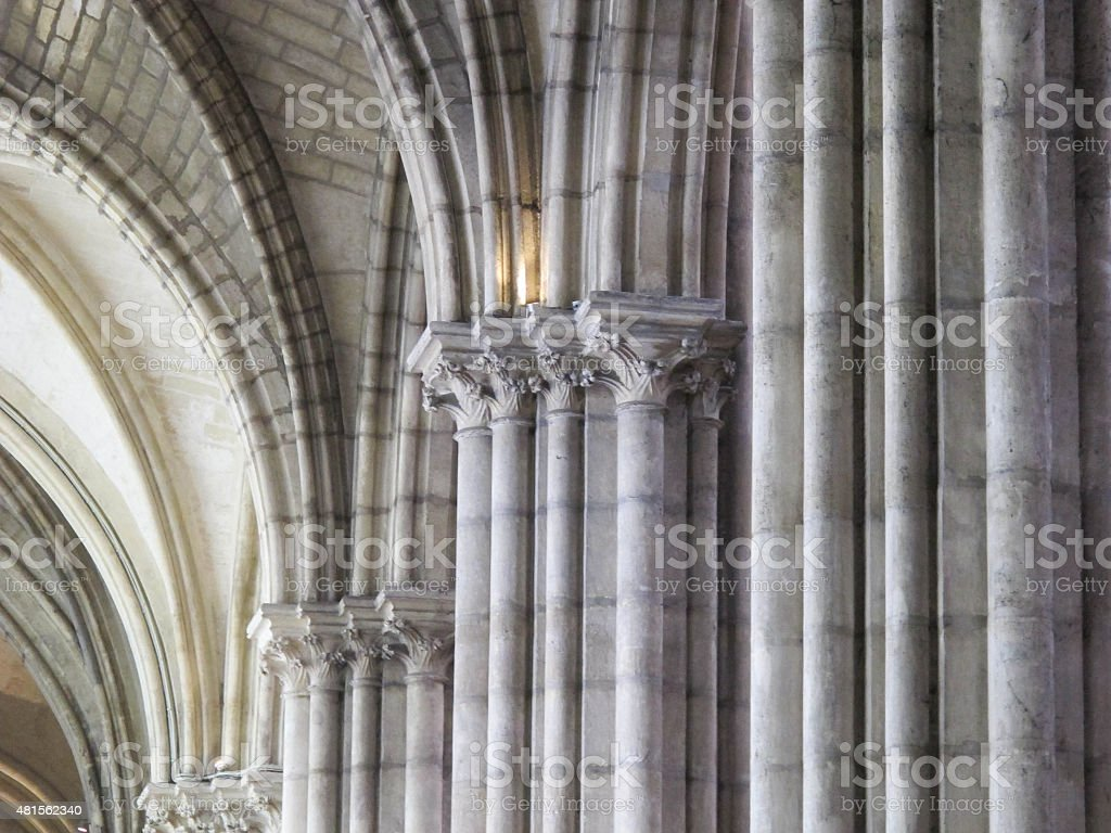 Capitals and Columns stock photo