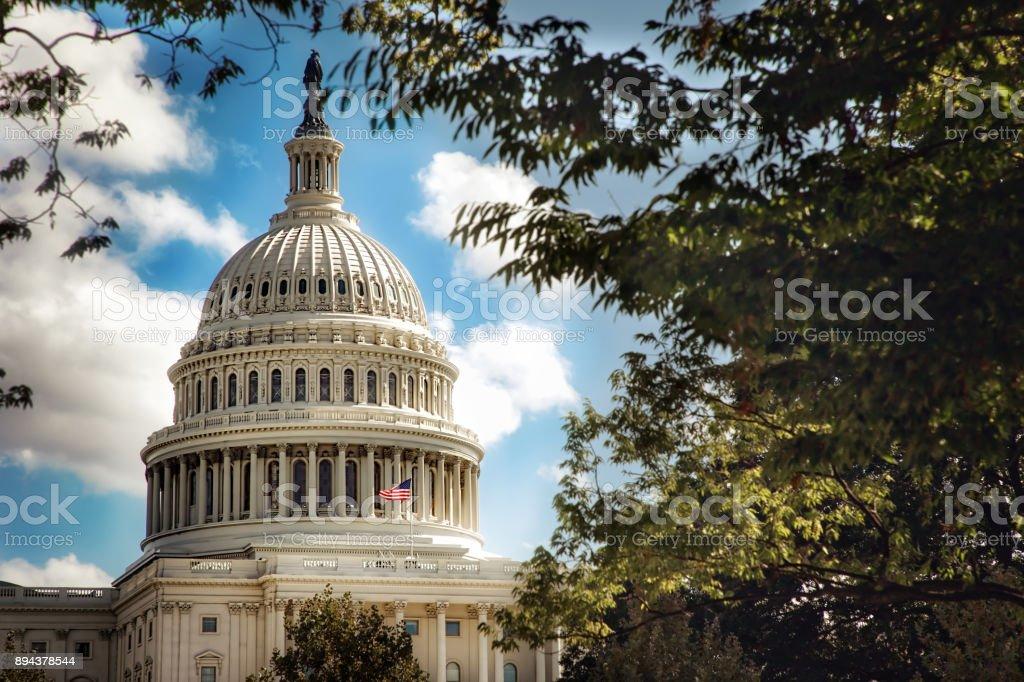 US Capitol 2 stock photo