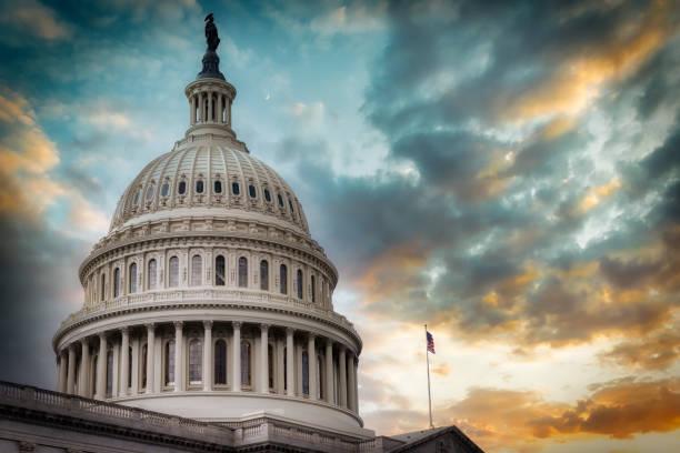 US Capitol 38 stock photo