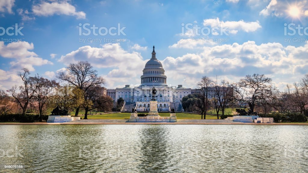 US Capitol 8 stock photo