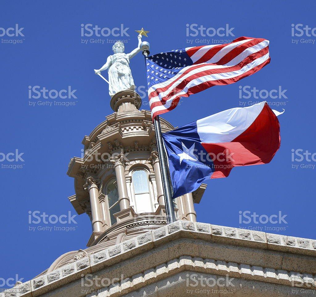 Edificio del Capitolio de Austin, Texas - foto de stock