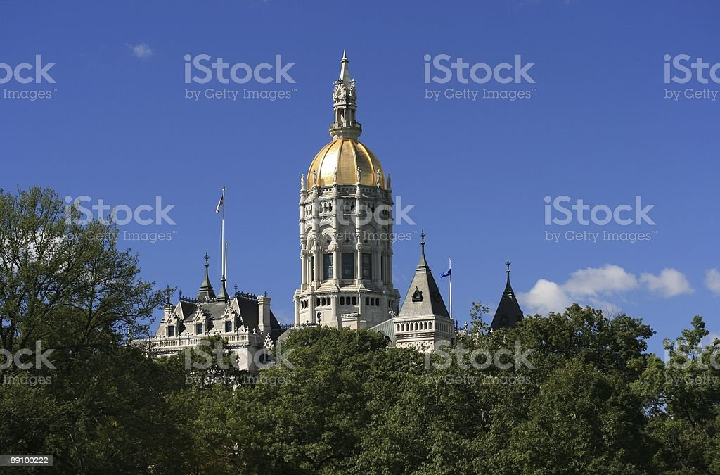 Capitol Building - Connecticut royalty-free stock photo