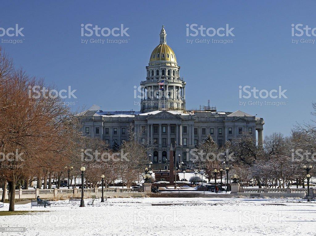 Capitol Building Denver stock photo