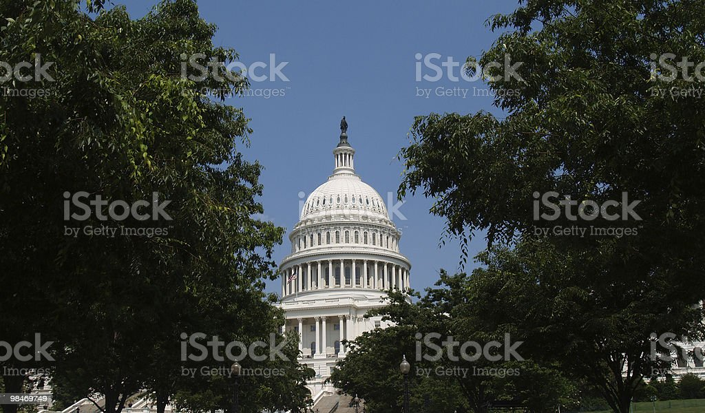 USA Capitol Building Dome royalty-free stock photo