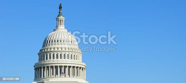 US Capitol Building dome (Washington DC).