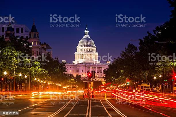 Capitol building from pennsylvania avenue picture id163352297?b=1&k=6&m=163352297&s=612x612&h=yvmlfesohxtmmrehpgnyfzkepbzxjfmuz 4spgqe1zm=