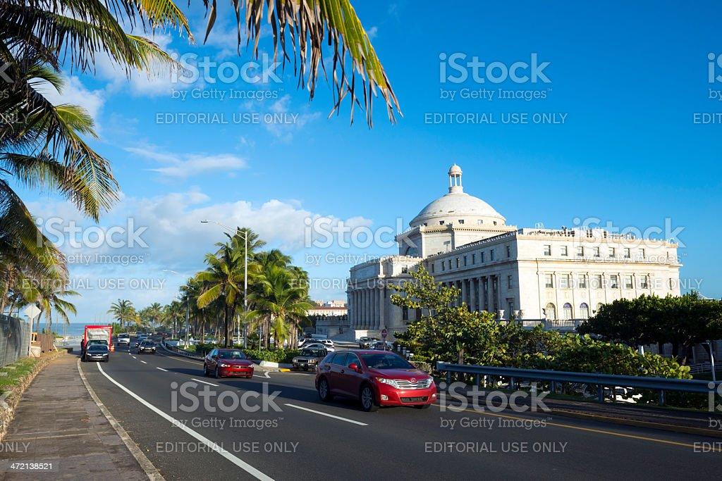Capitol Building in San Juan Puerto Rico stock photo