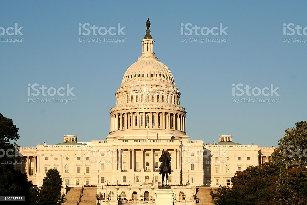 US Capitol Building in Washington, DC royalty-free stock photo