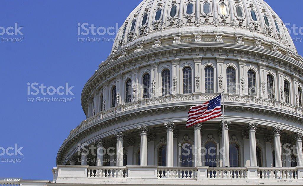 US Capitol Building in Washington DC stock photo