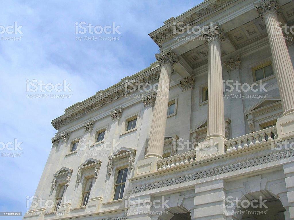 US Capitol Building in Washington, DC stock photo
