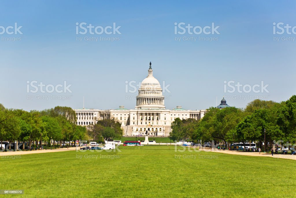 U.S. Capitol Building in Washington DC stock photo