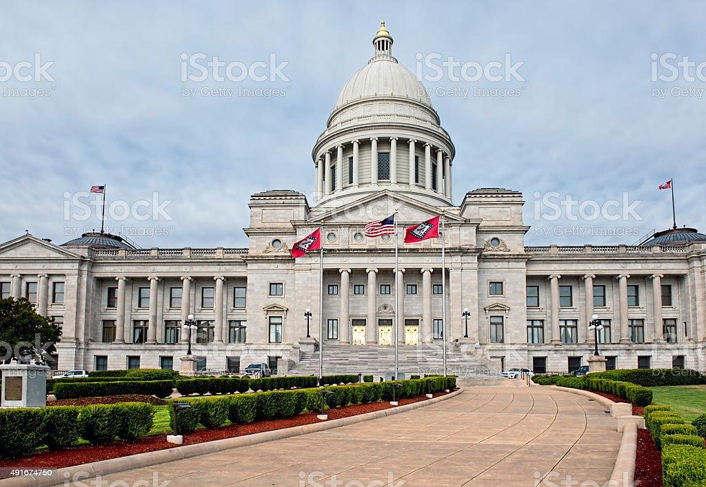 Capitol Building of Arkansas. stock photo