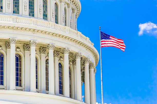 us capitol building of the united states government - chapiteau colonne architecturale photos et images de collection