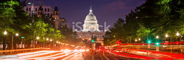 United States Capitol and the Senate Building, Washington DC USA