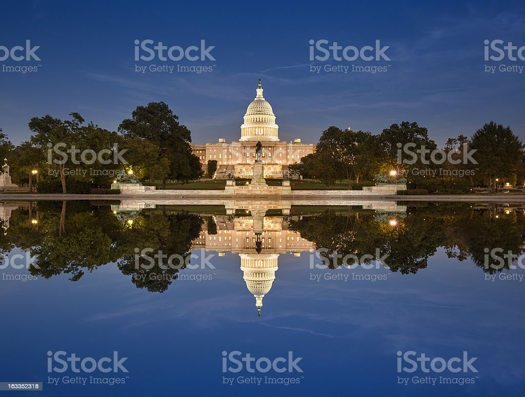 Capitol Building royalty-free stock photo