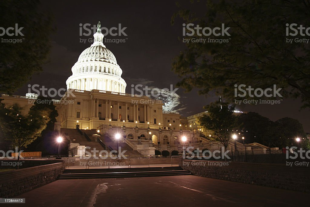 U. S. Capitol Building royalty-free stock photo