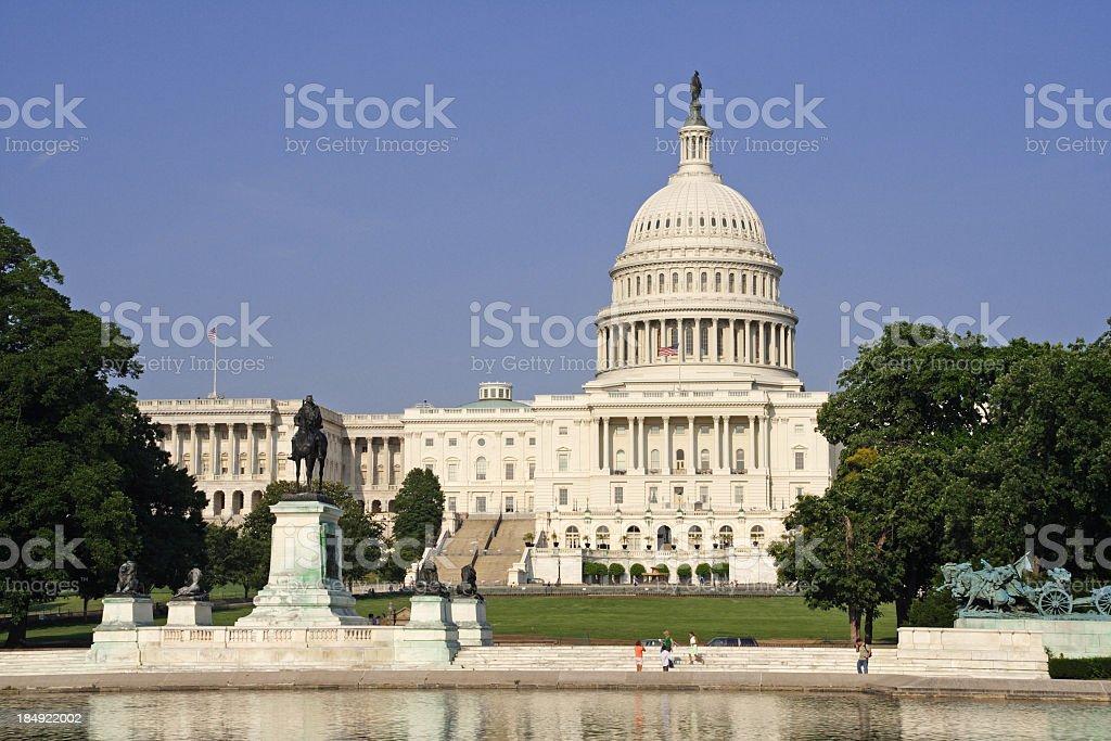 Capitol building stock photo