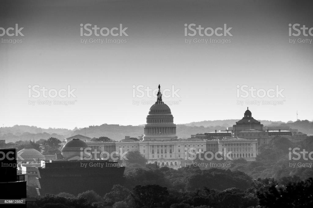 US Capitol Building stock photo