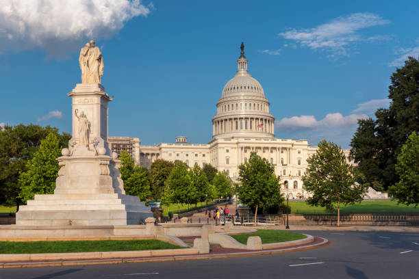 US Capitol building stock photo