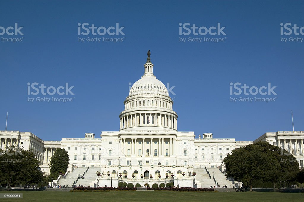 US Capitol Building foto royalty-free