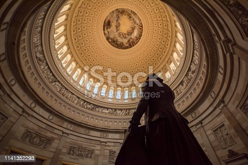 Capitol Building - Washington DC, USA, Washington DC, Member of Congress, Architectural Dome