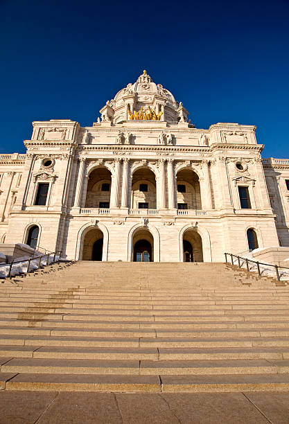 Capitol Building St Paul Minnesota stock photo