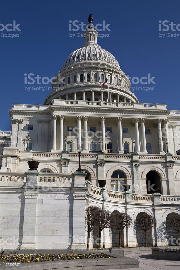 US Capitol Building Washington DC royalty-free stock photo