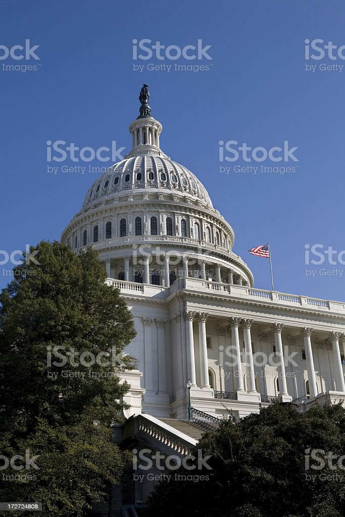 US Capitol Building Washington DC royalty-free stock photo