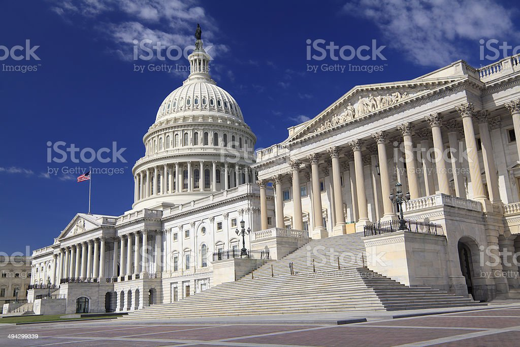 US Capitol Building, Washington DC stock photo