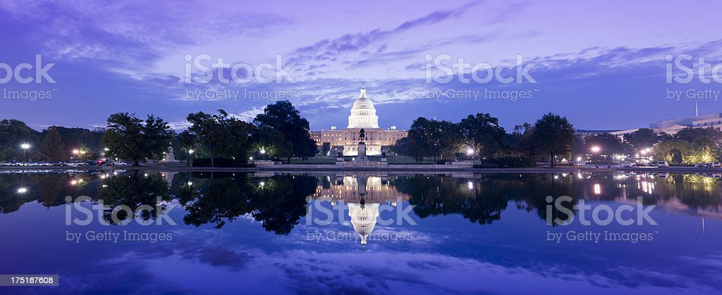 US Capitol Building Washington DC USA royalty-free stock photo