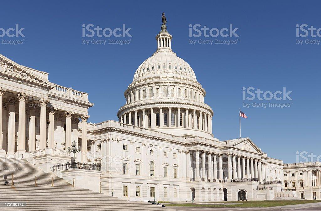 US Capitol Building Washington DC USA royalty-free stock photo