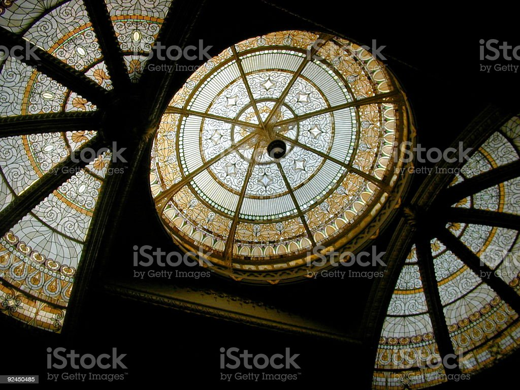 Capitol Ceiling stock photo