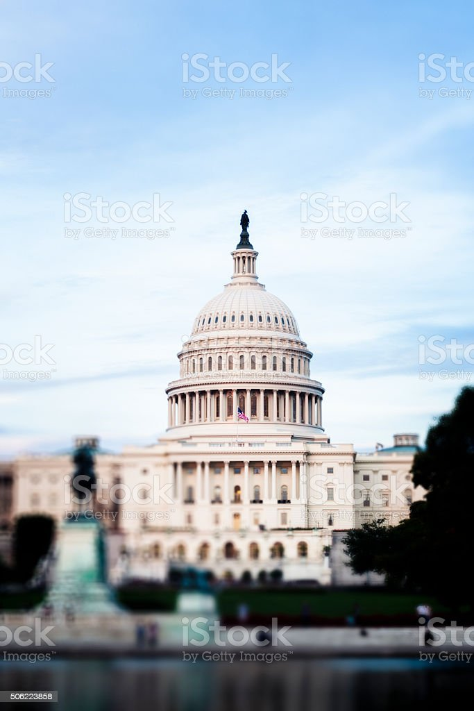 Capitol, DC stock photo