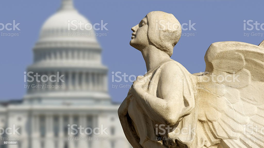 Capitol Democracy stock photo