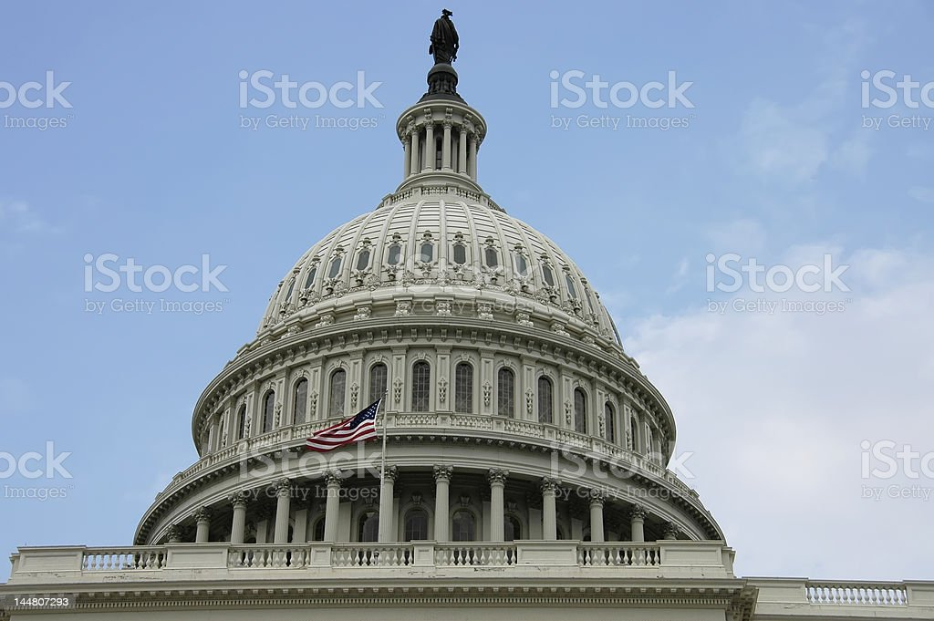 Capitol dome royalty-free stock photo