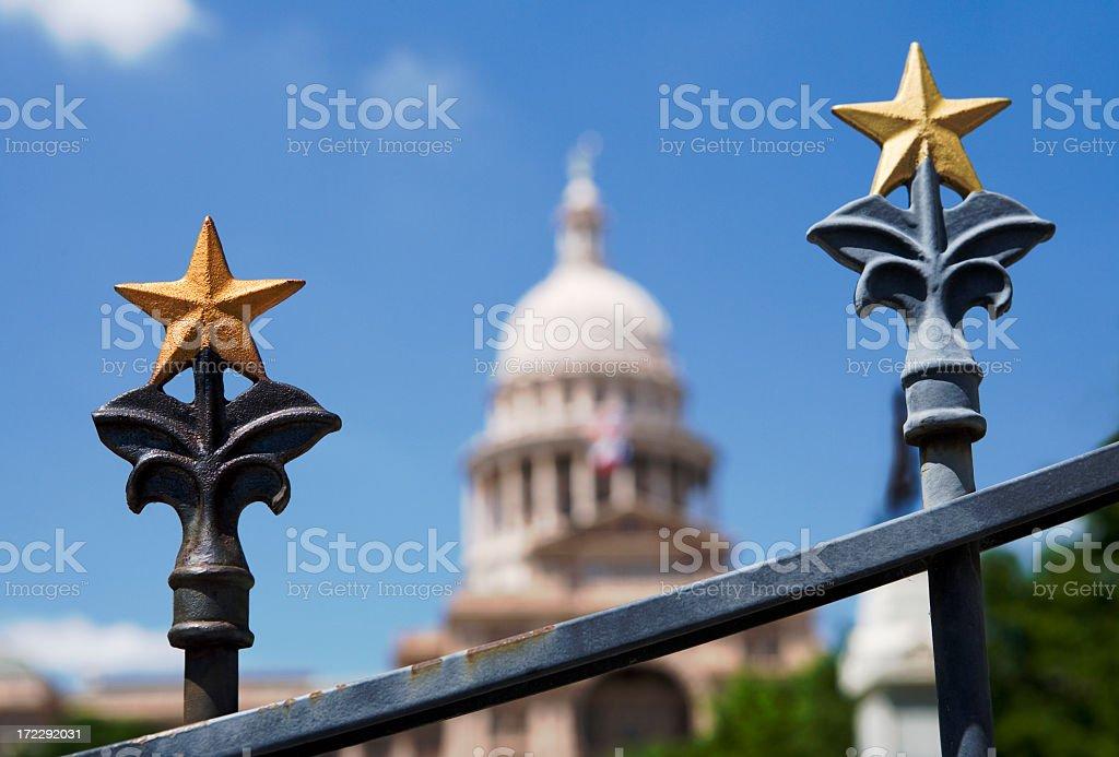 Capitol Gate stock photo