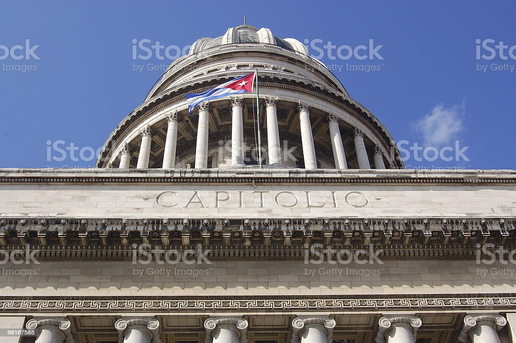 Capitolio, Havana royalty-free stock photo