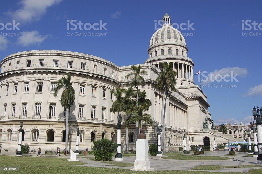 Capitolio, Havana royalty-free stock photo