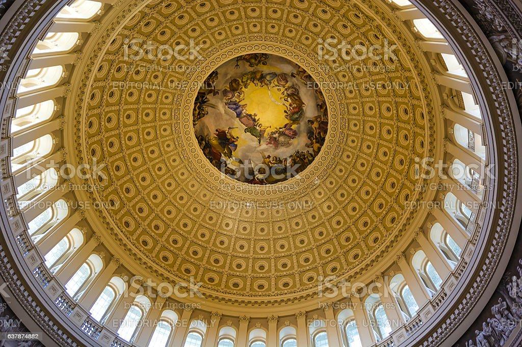 Capitol hill Dome stock photo