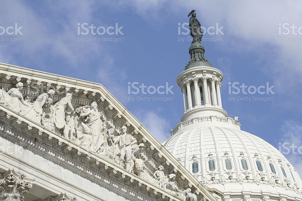Capitol Hill foto royalty-free