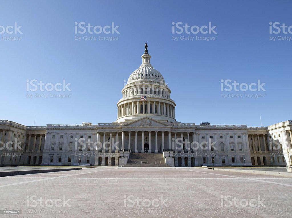 Capitol Hill foto stock royalty-free
